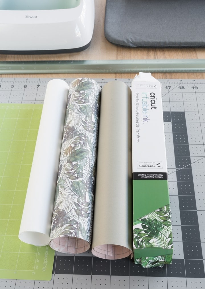 Cricut infusible ink sheets