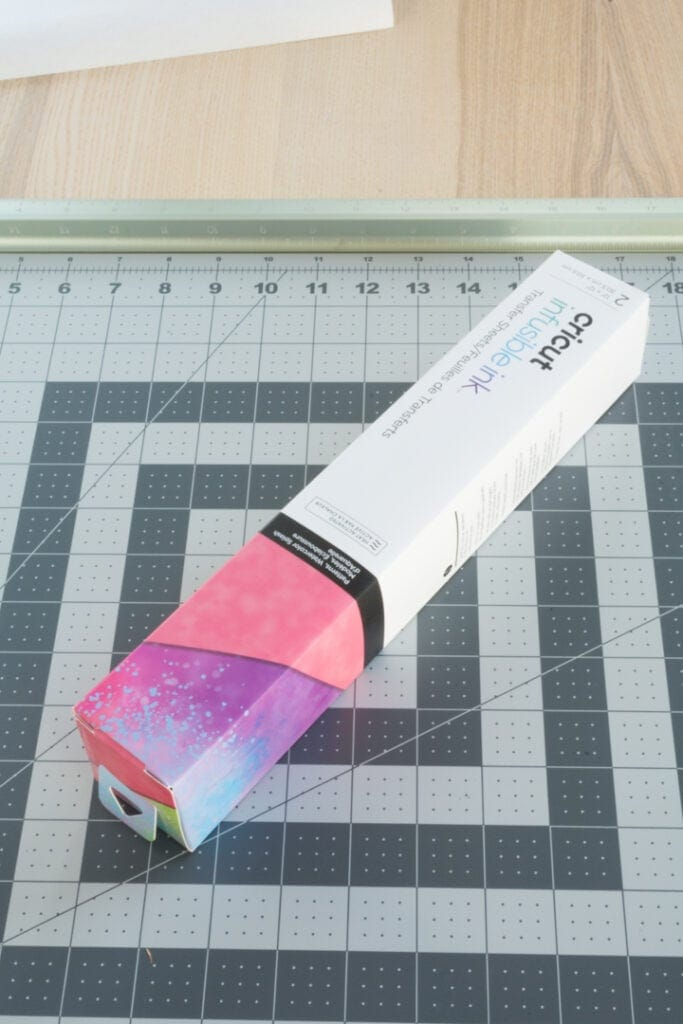 Infusible Ink transfer sheet package