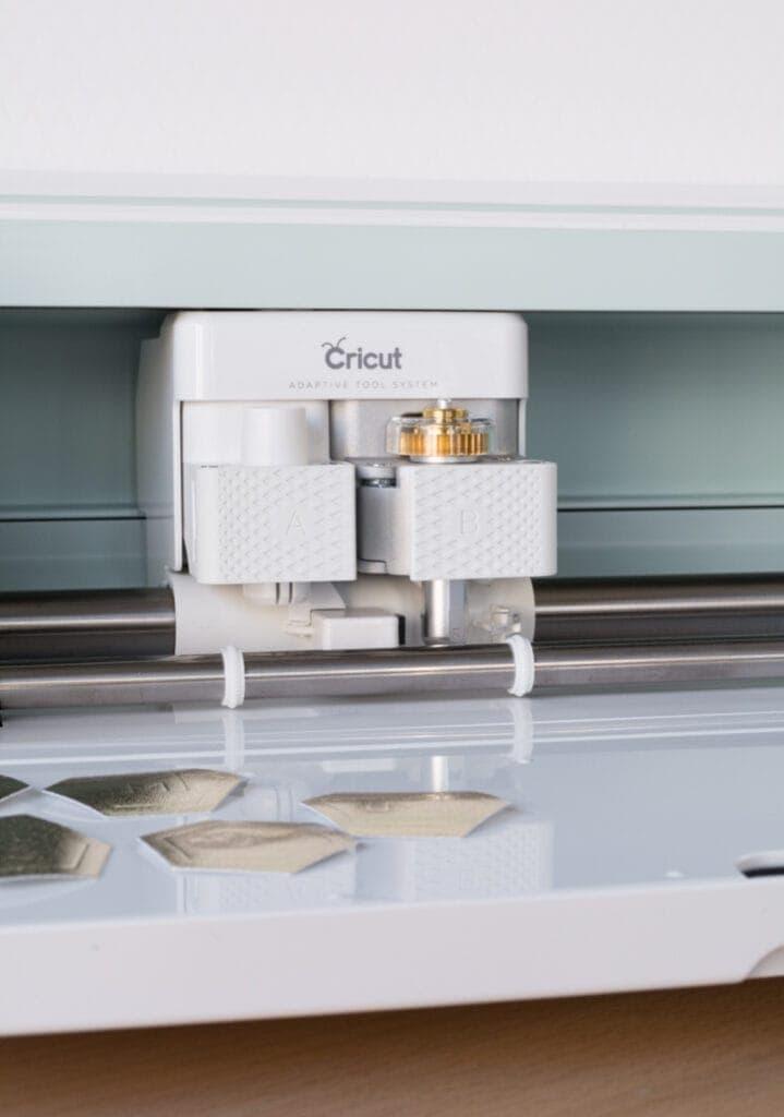 Cricut Maker tool area