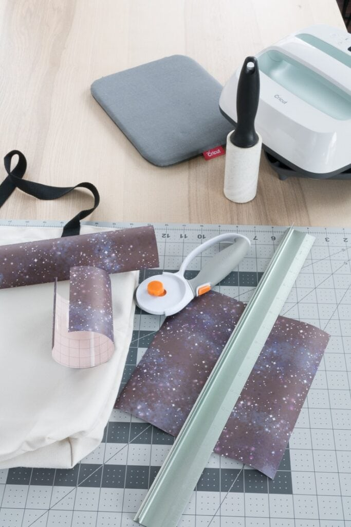 cutting infusible ink pieces