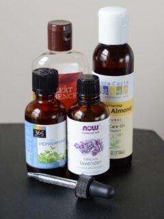 ingredients for homemade beard oil