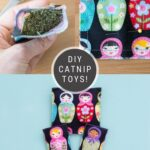 DIY Catnip Toys Made With Scrap Fabric