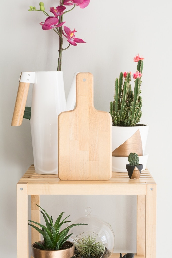 Ikea wooden cutting board