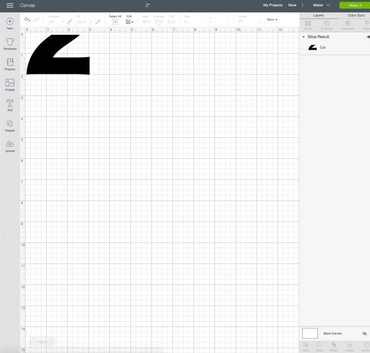 screenshot of Design Space