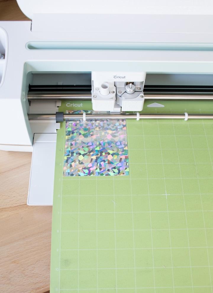 cutting vinyl on the Cricut Maker