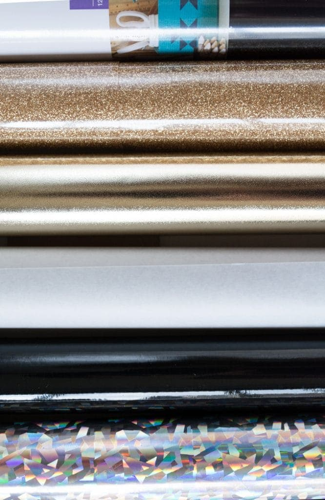 rolls of vinyl