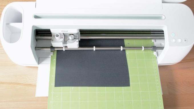 cutting iron-on vinyl on a Cricut Maker