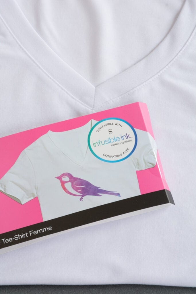 Cricut Infusible Ink t-shirt blank