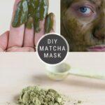 Make a Matcha Face Mask