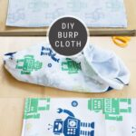 How to Sew Burp Clothes