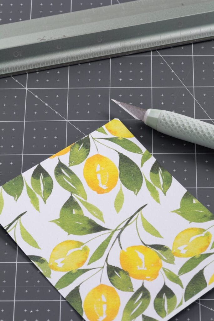 cutting deluxe adhesive paper