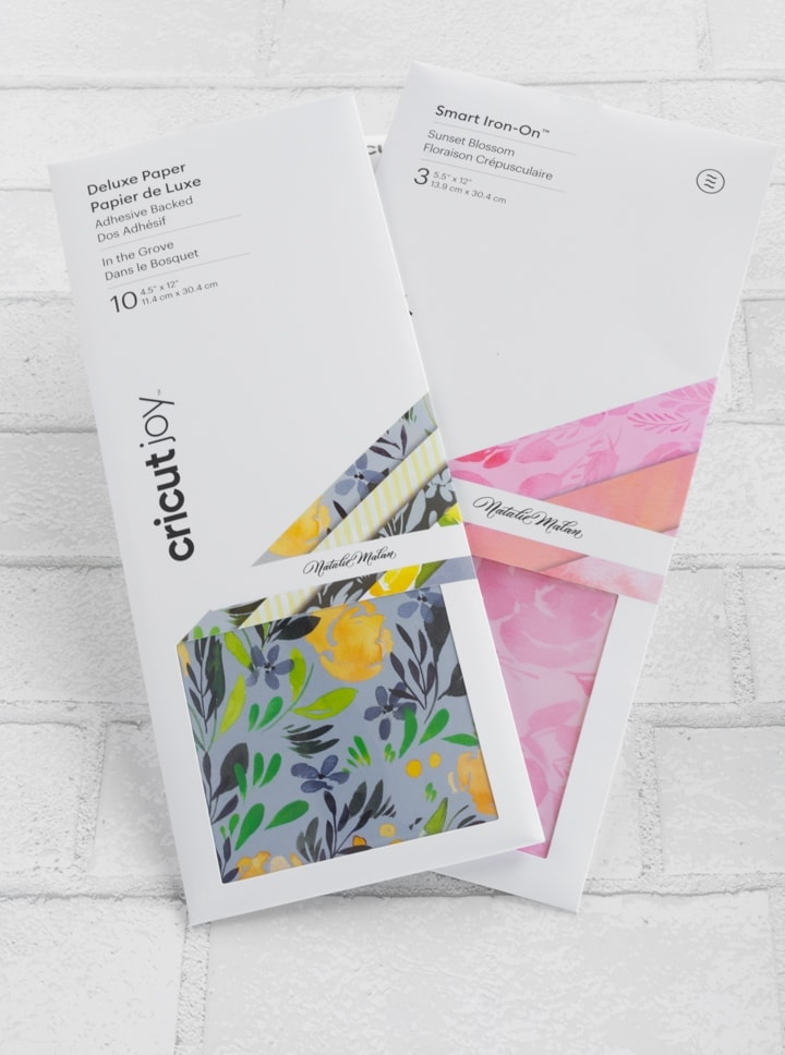 Cricut deluxe paper in a package