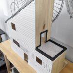 DIY Dollhouse Siding Using Balsa Wood