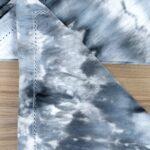 How to Ice Dye: My Black Ice Dye Napkin Tutorial