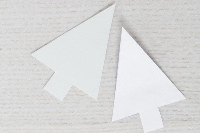 christmas tree paper templates