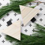Paint Stirrer Christmas Tree Ornaments