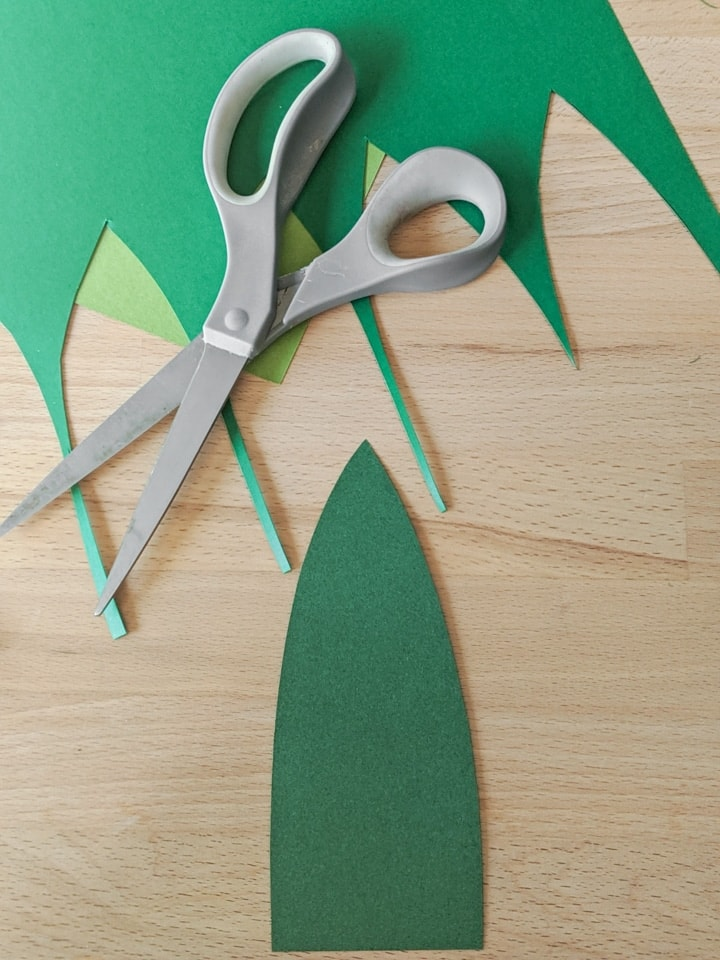 cutting paper out