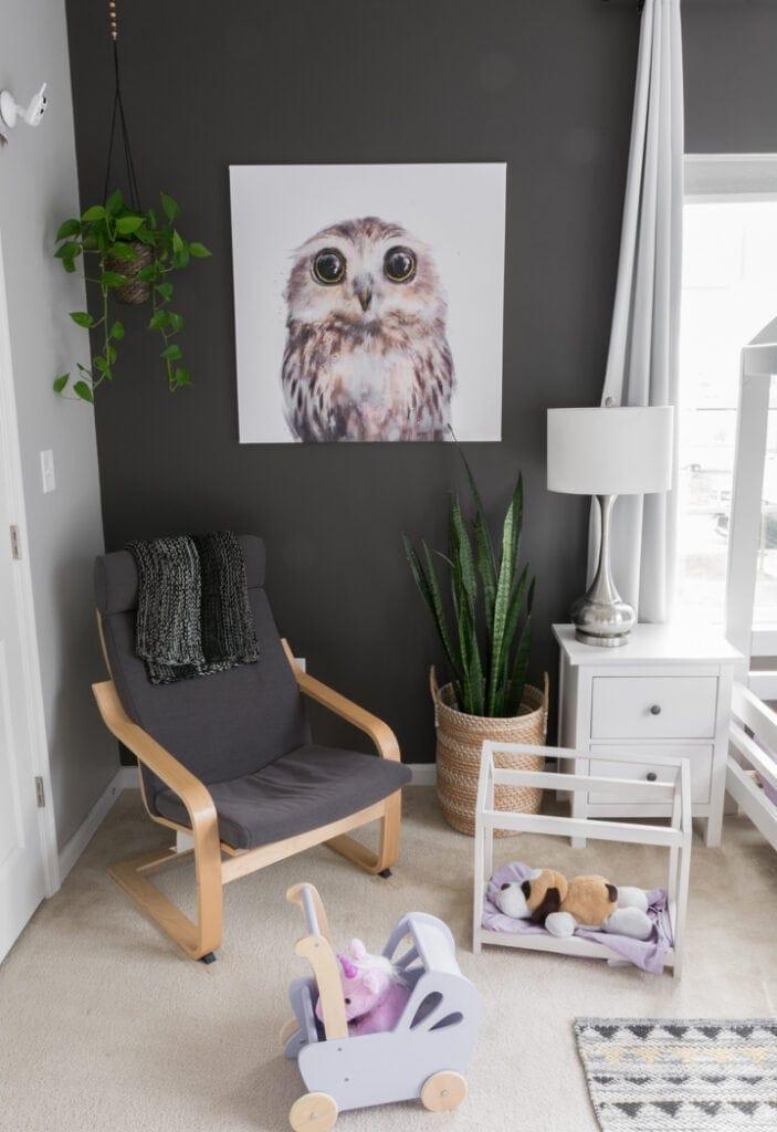 modern toddler room