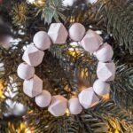 Easy DIY Wood Bead Ornaments