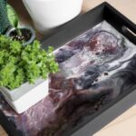 DIY Resin and Wood Serving Tray