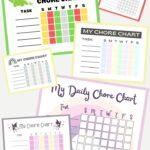 10 Free Printable Daily Chore Charts