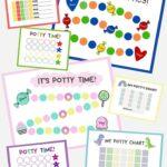 11 Free Printable Potty Charts