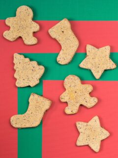 grain-free Christmas cookies for dogs