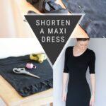 How to Hem a Maxi Dress