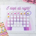 Free Printable Sleep Chart Template