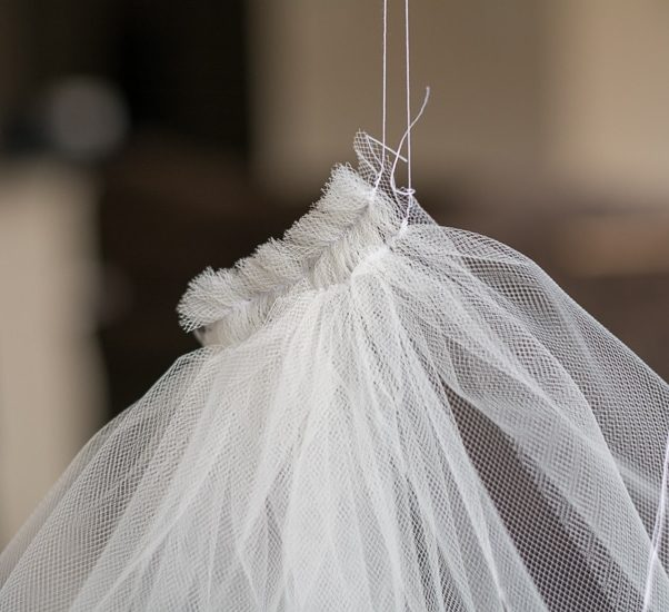 gathered tulle