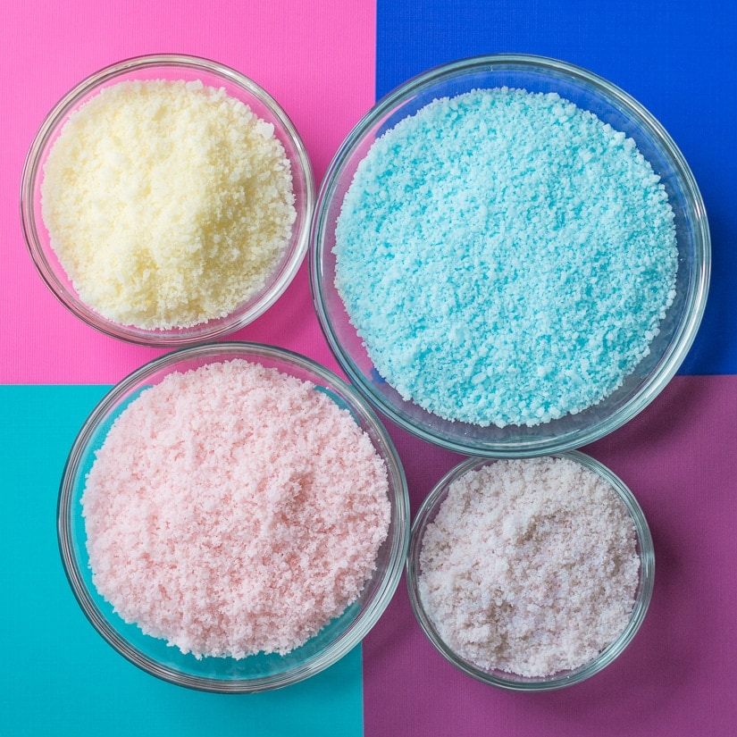 homemade baked bath salts