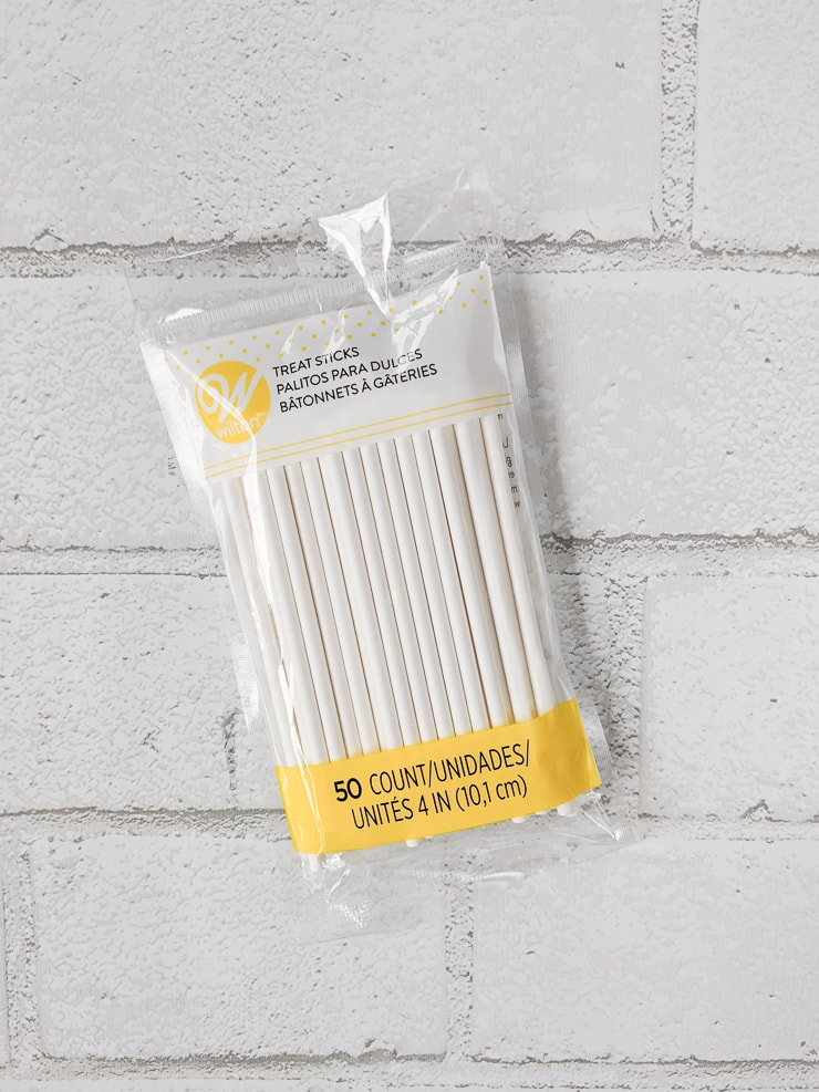 bag of lollipop sticks
