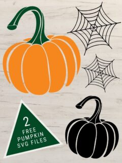 free pumpkin svg files including text overlay