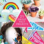 19 Cricut Felt Projects to Inspire