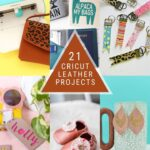 21 Cricut Leather Projects (& Faux Leather!)