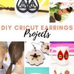 20 Cricut Earring Projects!
