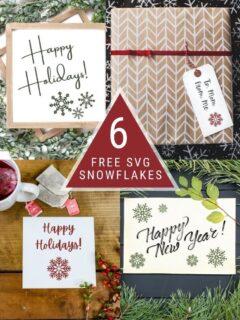 free snowflake svg files