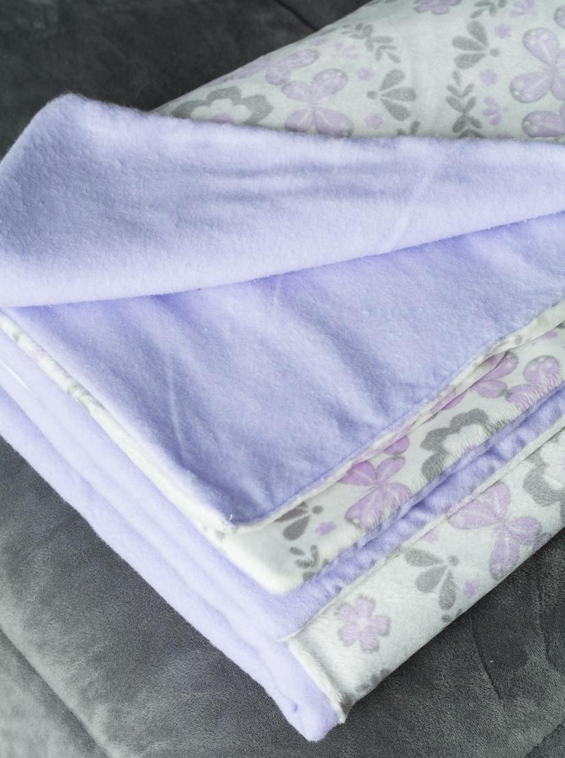 homemade baby blanket